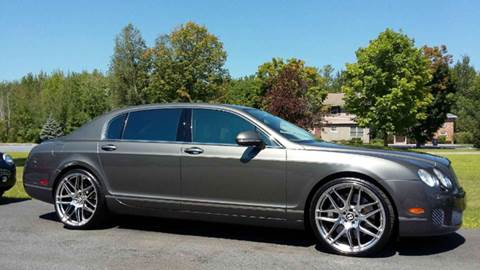 2010 Bentley Continental Flying Spur Speed for sale at R & R Motors in Queensbury NY
