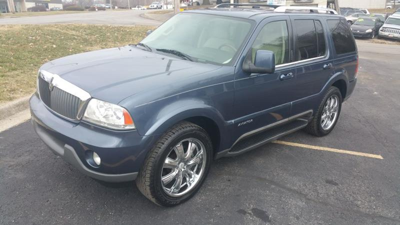 2003 Lincoln Aviator Awd Luxury 4dr Suv In Kansas City Mo Used