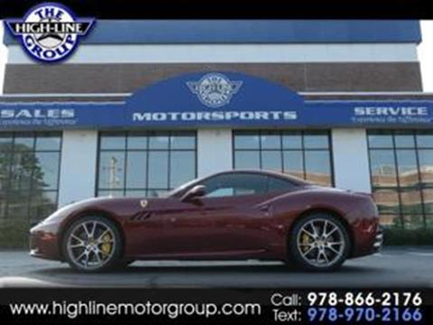 2012 Ferrari California for sale in Lowell, MA