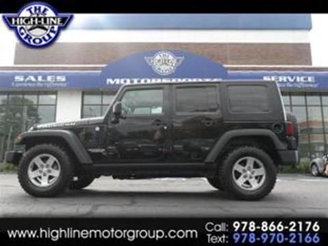 2010 Jeep Wrangler Unlimited for sale in Lowell, MA