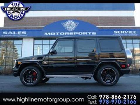 2014 Mercedes-Benz G-Class for sale in Lowell, MA