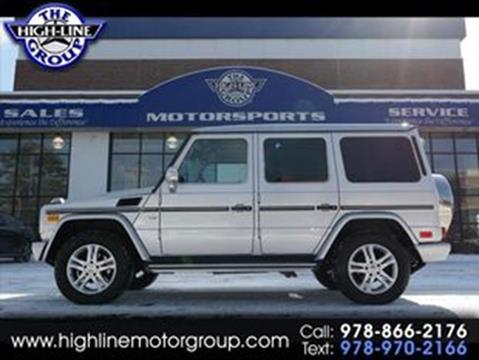 2012 Mercedes-Benz G-Class for sale in Lowell, MA