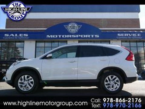 2016 Honda CR-V for sale in Lowell, MA