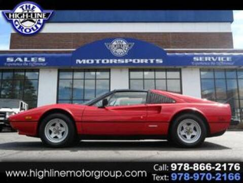 1981 Ferrari 308 GTS for sale at Highline Group Motorsports in Lowell MA