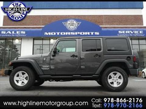 2017 Jeep Wrangler Unlimited for sale in Lowell, MA