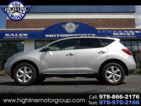 2010 Nissan Murano for sale at Highline Group Motorsports in Lowell MA