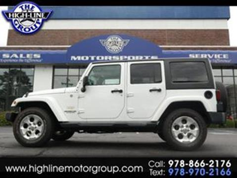 2015 Jeep Wrangler Unlimited for sale in Lowell, MA