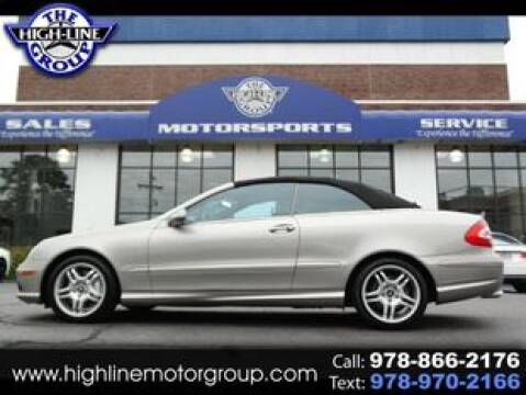 2004 Mercedes-Benz CLK for sale at Highline Group Motorsports in Lowell MA
