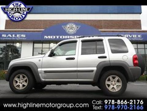 2004 Jeep Liberty for sale in Lowell, MA