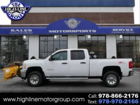 2014 Chevrolet Silverado 3500HD for sale at Highline Group Motorsports in Lowell MA