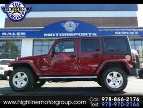2011 Jeep Wrangler Unlimited for sale in Lowell, MA