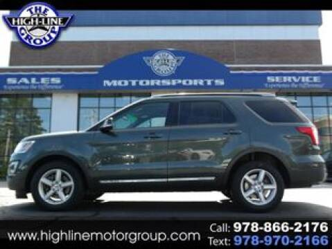 2016 Ford Explorer for sale at Highline Group Motorsports in Lowell MA
