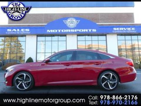 2018 Honda Accord for sale in Lowell, MA