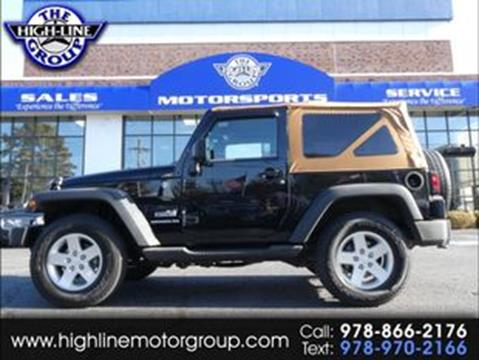 2011 Jeep Wrangler for sale in Lowell, MA