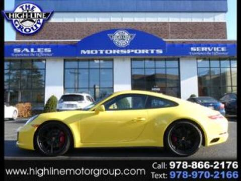 2017 Porsche 911 for sale at Highline Group Motorsports in Lowell MA