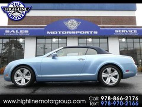 2008 Bentley Continental for sale in Lowell, MA