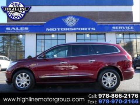 2017 Buick Enclave for sale at Highline Group Motorsports in Lowell MA