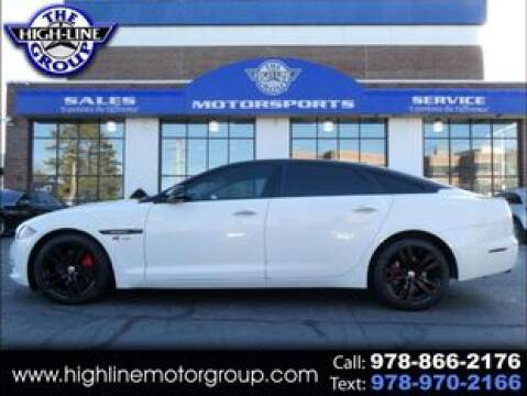 2015 Jaguar XJL for sale at Highline Group Motorsports in Lowell MA