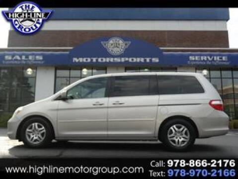 2006 Honda Odyssey for sale at Highline Group Motorsports in Lowell MA