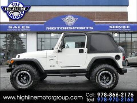 1999 Jeep Wrangler Sport for sale at Highline Group Motorsports in Lowell MA