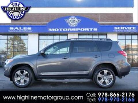 2010 Toyota RAV4 Sport for sale at Highline Group Motorsports in Lowell MA