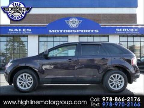 2007 Ford Edge SEL for sale at Highline Group Motorsports in Lowell MA