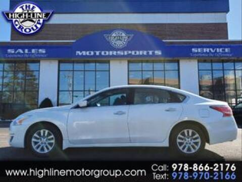 2014 Nissan Altima 2.5 S for sale at Highline Group Motorsports in Lowell MA