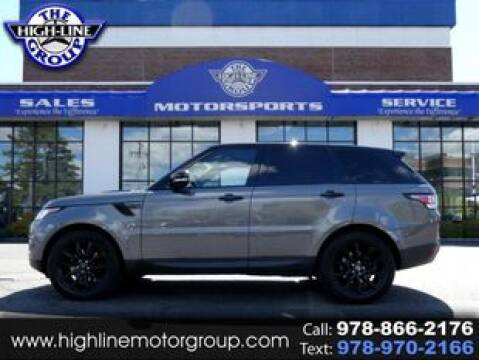 2016 Land Rover Range Rover Sport for sale at Highline Group Motorsports in Lowell MA