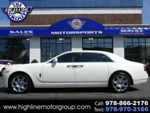 2012 Rolls-Royce Ghost for sale at Highline Group Motorsports in Lowell MA
