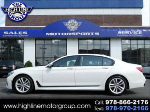 2017 BMW 7 Series for sale at Highline Group Motorsports in Lowell MA