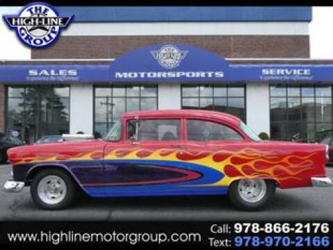 1955 Chevrolet Bel Air for sale at Highline Group Motorsports in Lowell MA