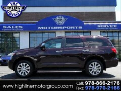 2015 Toyota Sequoia for sale at Highline Group Motorsports in Lowell MA