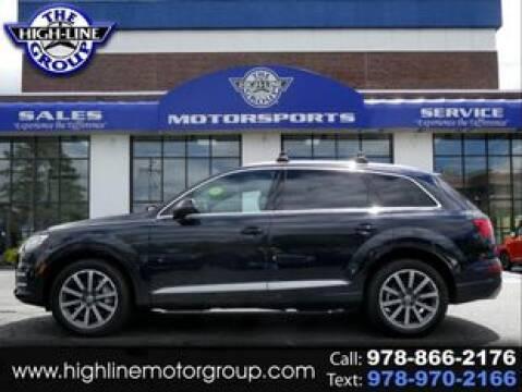 2017 Audi Q7 for sale at Highline Group Motorsports in Lowell MA