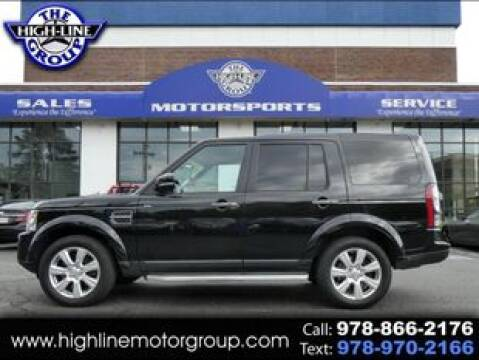 2015 Land Rover LR4 for sale at Highline Group Motorsports in Lowell MA