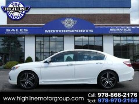 2017 Honda Accord for sale at Highline Group Motorsports in Lowell MA