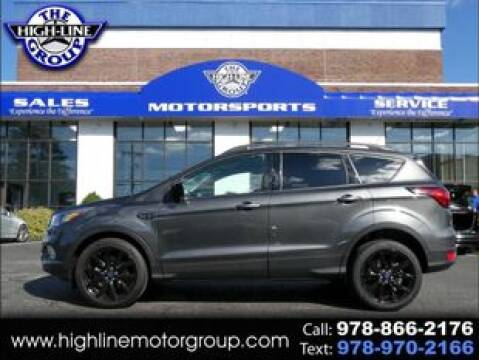 2019 Ford Escape for sale at Highline Group Motorsports in Lowell MA