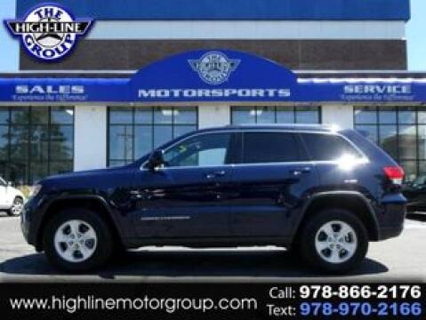 2016 Jeep Grand Cherokee for sale at Highline Group Motorsports in Lowell MA