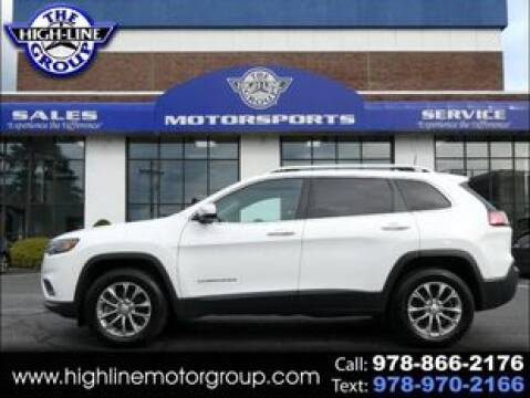 2019 Jeep Cherokee for sale at Highline Group Motorsports in Lowell MA
