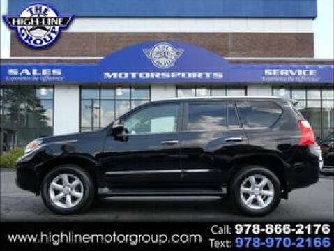 2012 Lexus GX 460 for sale at Highline Group Motorsports in Lowell MA