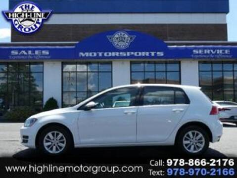 2016 Volkswagen Golf for sale at Highline Group Motorsports in Lowell MA