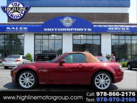 2006 Mazda MX-5 Miata for sale at Highline Group Motorsports in Lowell MA