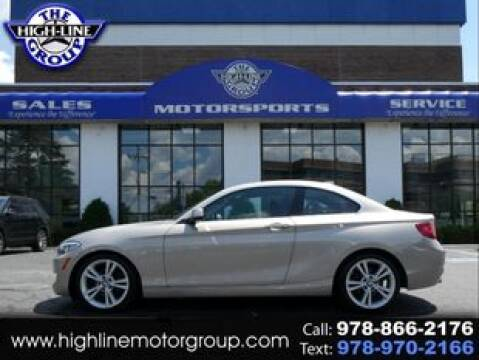 2014 BMW 2 Series for sale at Highline Group Motorsports in Lowell MA