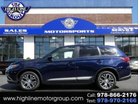 2017 Mitsubishi Outlander for sale at Highline Group Motorsports in Lowell MA