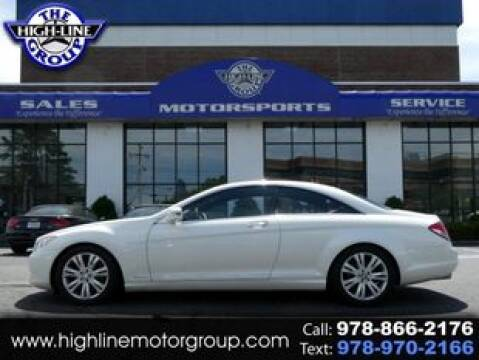 2010 Mercedes-Benz CL-Class for sale at Highline Group Motorsports in Lowell MA