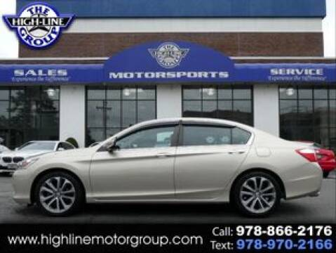 2015 Honda Accord for sale at Highline Group Motorsports in Lowell MA