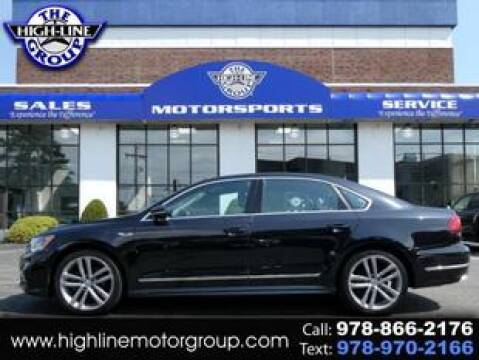 2017 Volkswagen Passat for sale at Highline Group Motorsports in Lowell MA
