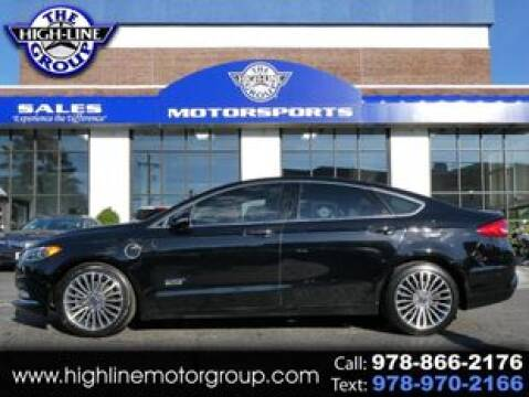 2017 Ford Fusion Energi for sale at Highline Group Motorsports in Lowell MA