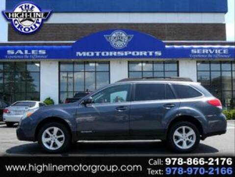 2014 Subaru Outback for sale at Highline Group Motorsports in Lowell MA