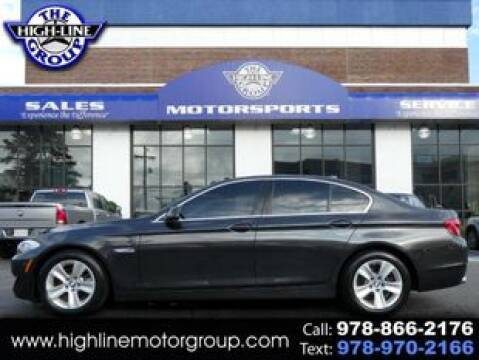 2011 BMW 5 Series for sale at Highline Group Motorsports in Lowell MA