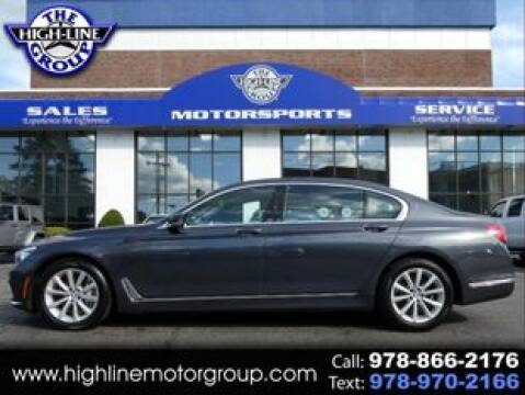 2019 BMW 7 Series for sale at Highline Group Motorsports in Lowell MA
